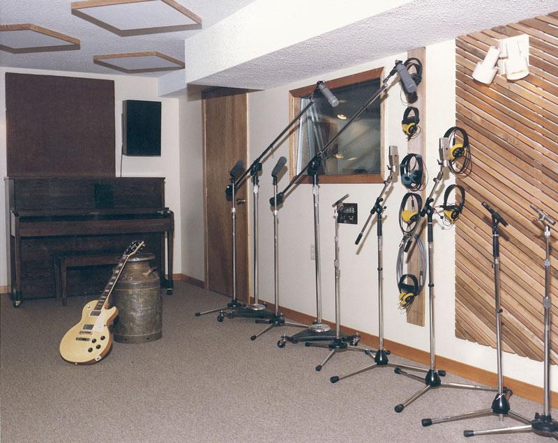 River Valley Studio - Old Studio Recording Room